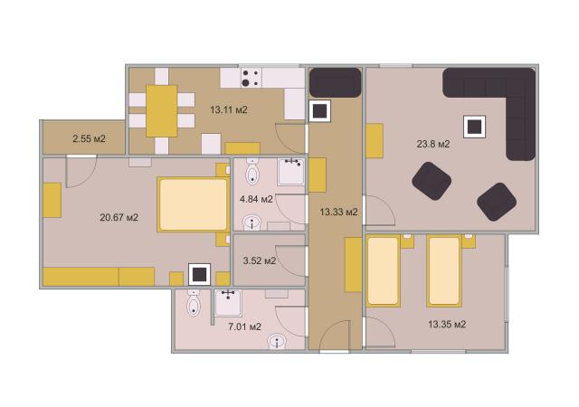 План помещения 2d