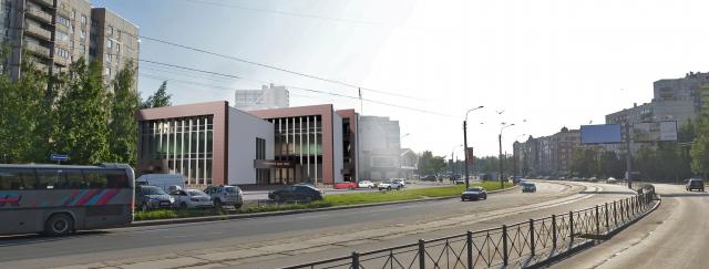 "Концепт для презентации строительства спортивного центра ""Искра"""
