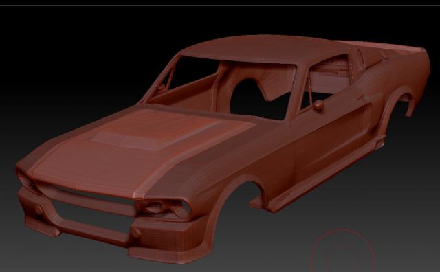 Модель Форд под печать