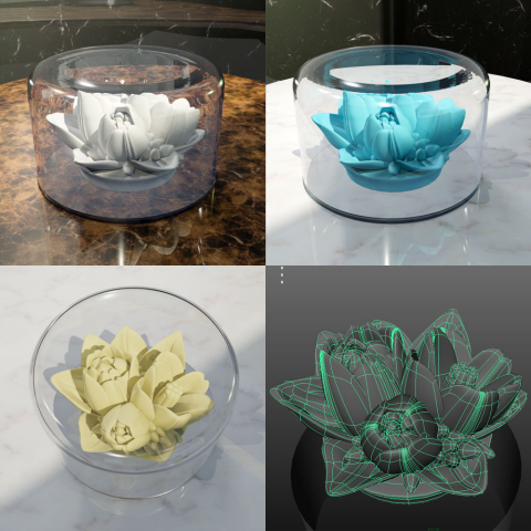 модель тюльпанов