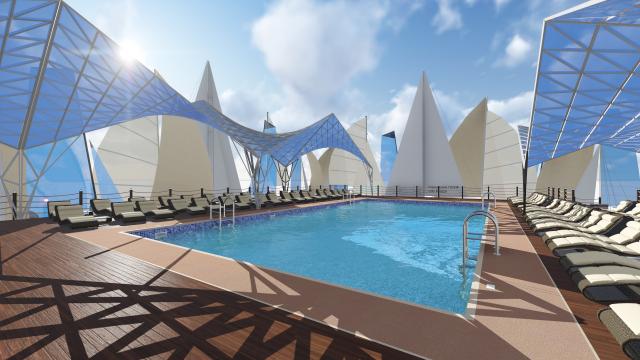 Авторский проект мобильного городского пляжа