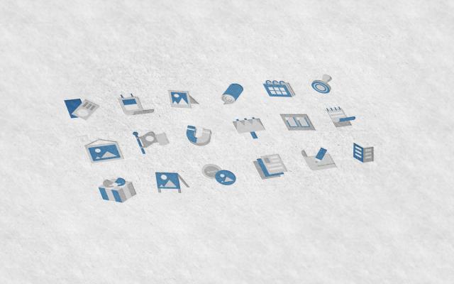 Иконки для сайта типографии