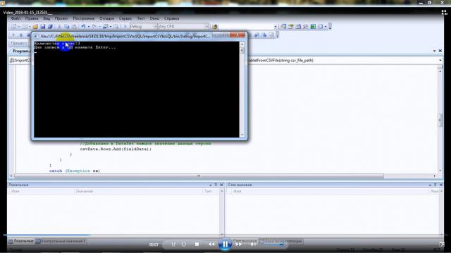 Импорт из файла txt в SQL Server 2005