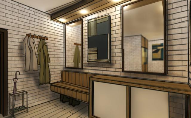 Проект квартиры для художника