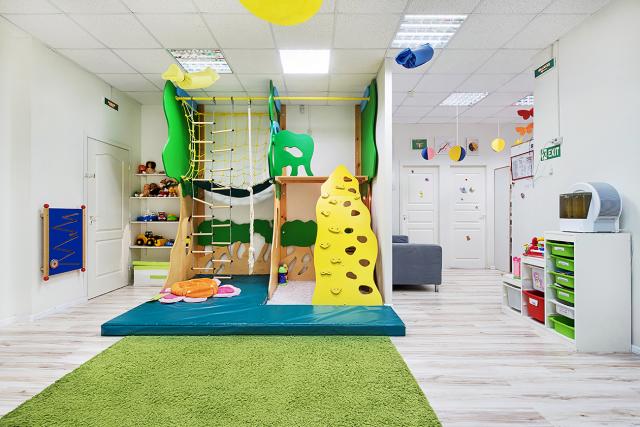 интерьер частный детский сад