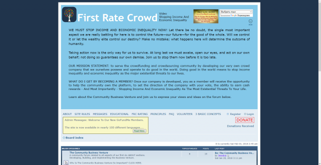 First Rate Crowd