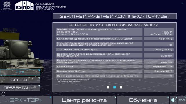 Интерактивная презентация Зенитного комплекса