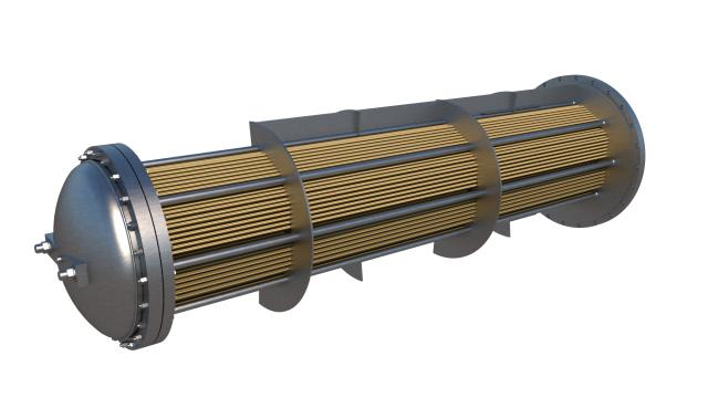 Визуализация трубной системы ПСВ