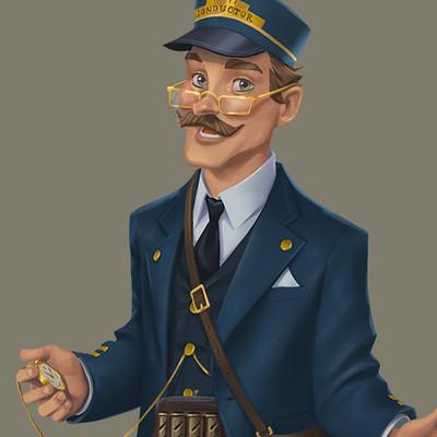 Кондуктор - Дизайн персонажа