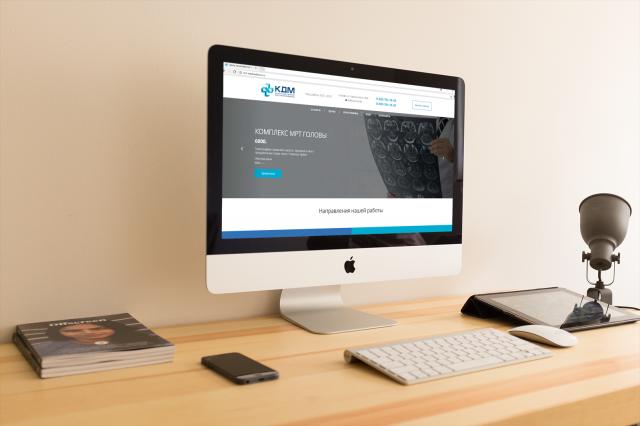 Сайт для сети клиник в Москве