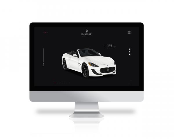 Concept for Maserati