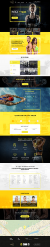 Дизайн для фитнес клуба в Москве
