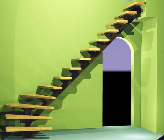 Лестница #04