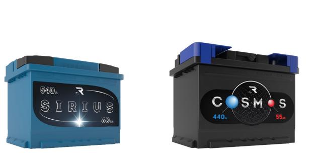 Разработка дизайна для линейки аккумуляторов