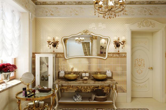 Ванная комната в стиле Барокко [ver. 1] (2015)