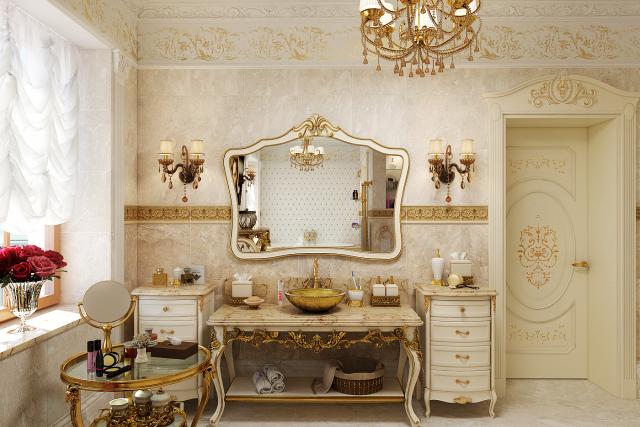Ванная комната в стиле Барокко [ver. 2] (2015)