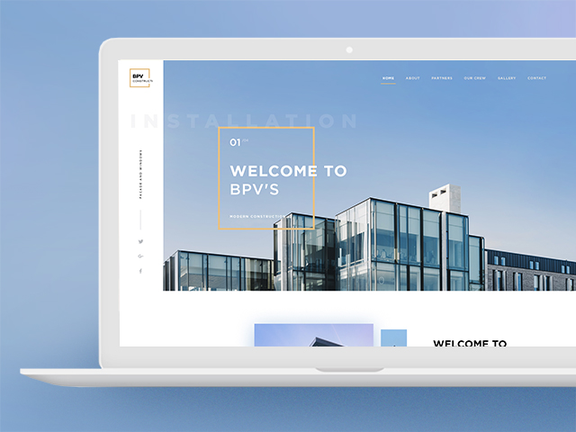 BPV Construction Inc - корпоративный сайт