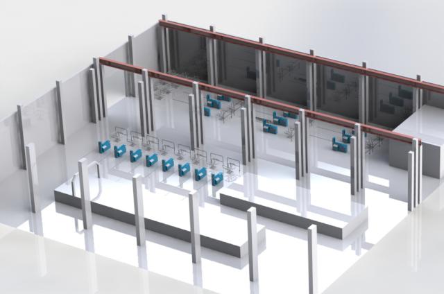 Проектирование промышленных цехов
