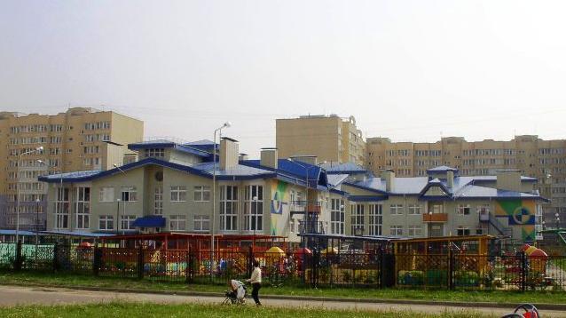 Детский сад в мкр. Сокол, г. Ярославль