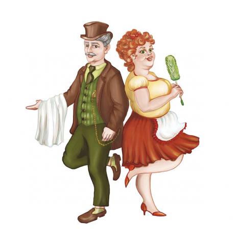 персонажи для логотипа