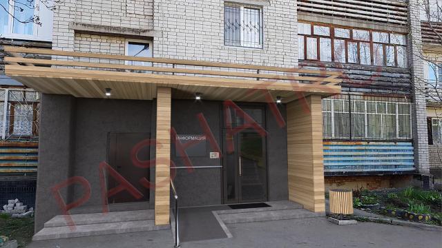 Дизайн и визуализация нового подъезда для старого дома.3dsmax&Ph