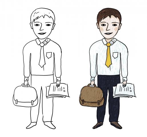 Разработка персонажа для стикеров в телеграм