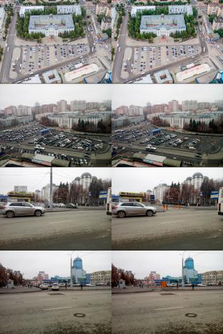 визуализация будущей парковки. Самара