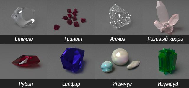 Камни и минералы #1