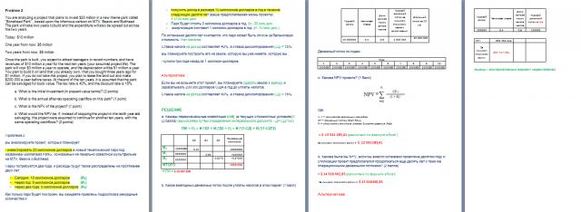 Задачи для MBA - (Лондонская школа экономики)