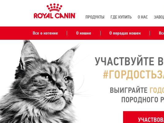 Корм для собак и кошек премиум класса