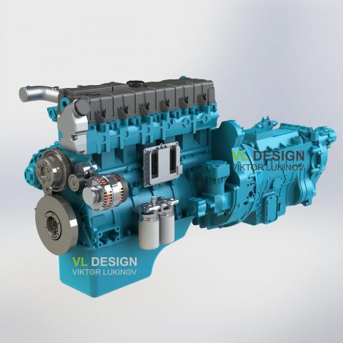 Двигатель ЯМЗ 536