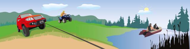 Квадро-мото-лодка-постер