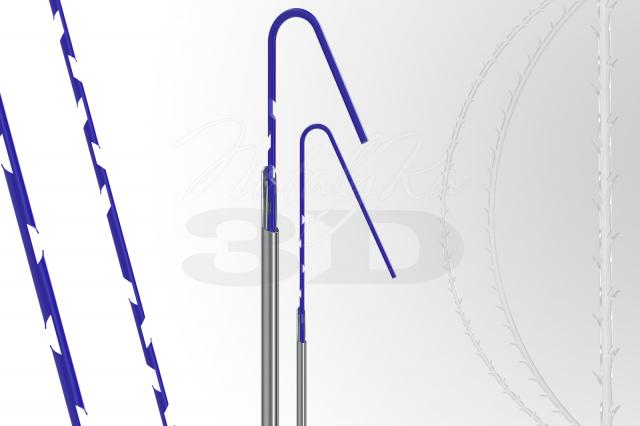 Визуализация нитей для подтяжки лица