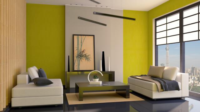 Дизайн интерьера в современном японском стиле