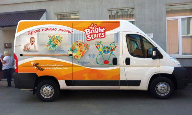 Реклама бренда Bright Starts