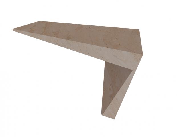 Проектирование стола из камня