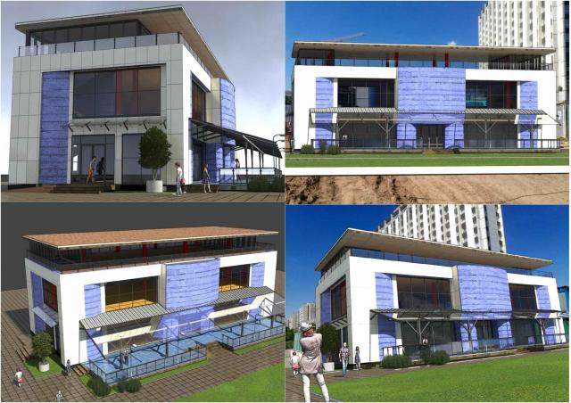 Варинант 2 Проект переустройства здания Проспект Вернадского 14Б