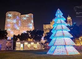Новый год в Баку Азербайджан