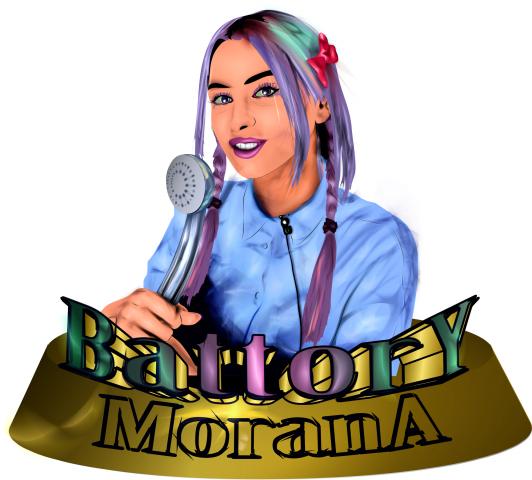 Одна из версий логотипа с портретом на блоггершу