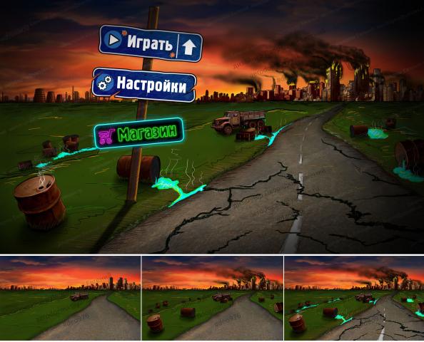 Апокалипсис Интерфейс игры/ прелоадер/ #deo976