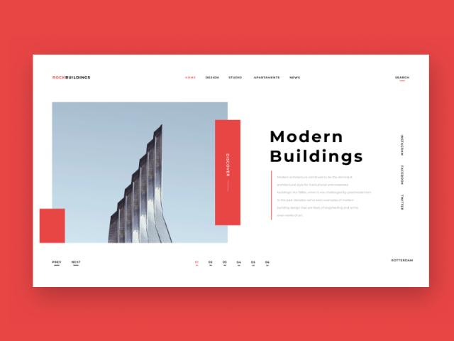 Архитектурный сайт