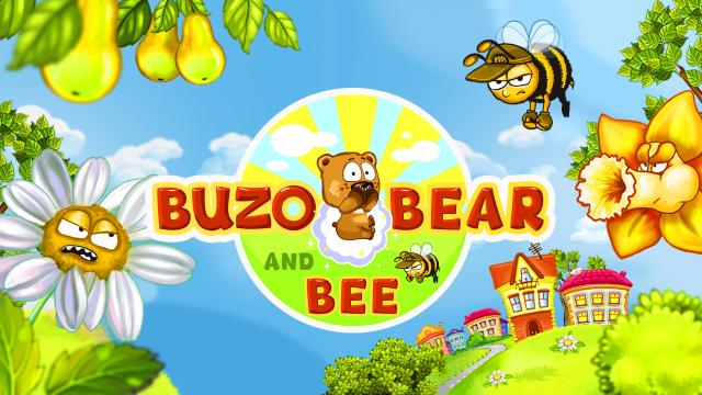 игра Buzo Bear and Bee