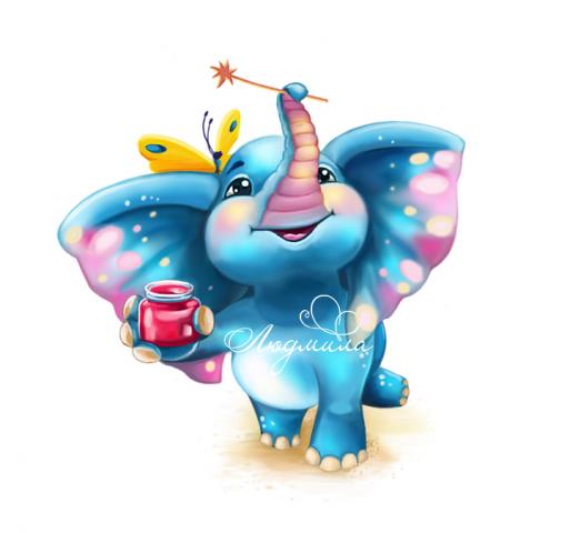 Персонаж Слонёнок