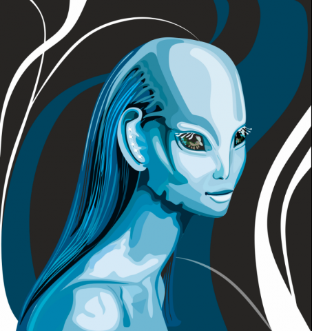 инопланетянка