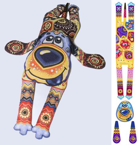 Подушка-игрушка по моему дизайну