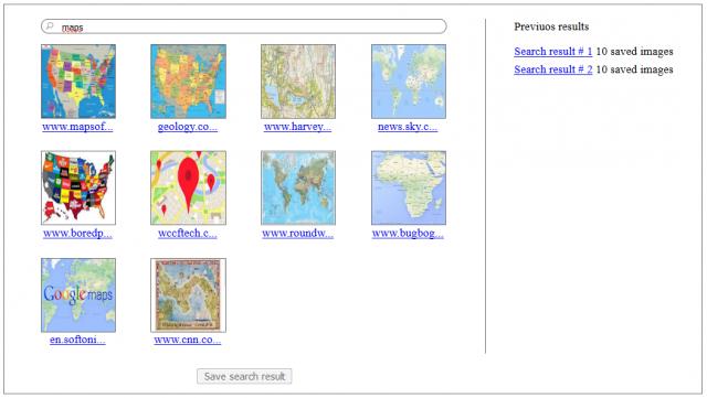ASP.NET MVC Simple Image Searcher