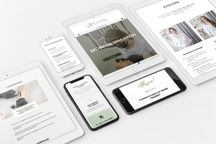 Дизайн корпоративного сайта для ГК Дикетс