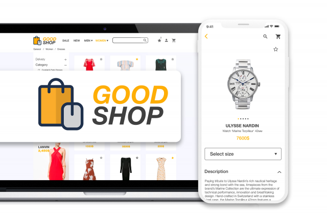 "Internet-shop ""GOOD SHOP"" WEB+IOS"