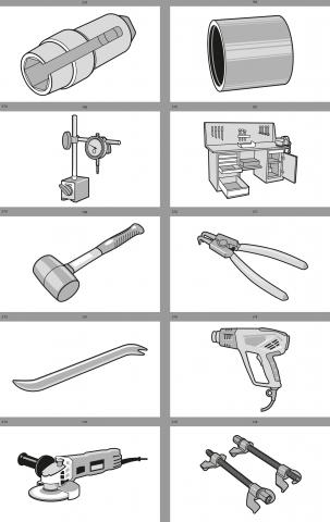 Технические иллюстрации, инструменты