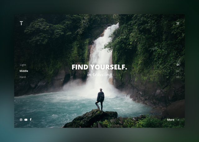Find yourself in traveling